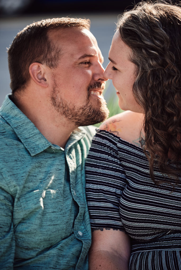 Two People In Love in Port Huron, Michigan